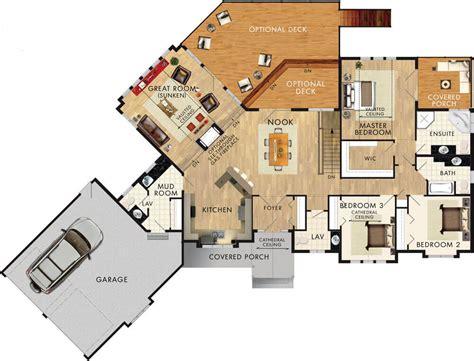 home hardware floor plans beaver homes and cottages glenbriar ii