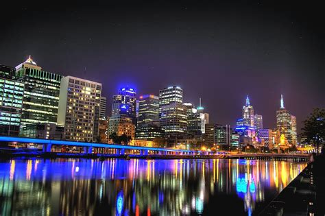Cool Wallpaper Melbourne | hd melbourne australia city reflection cool wallpaper
