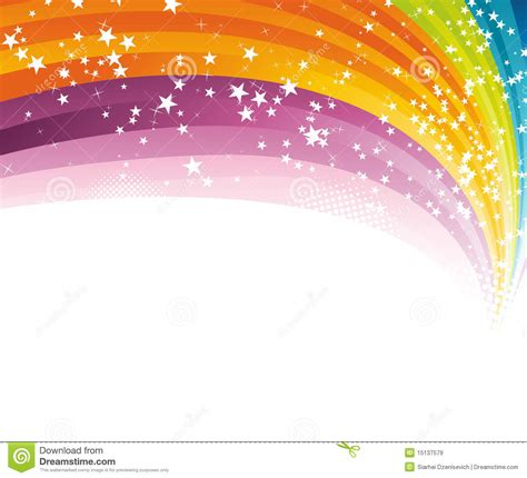 background template free rainbow advertising background template royalty free stock