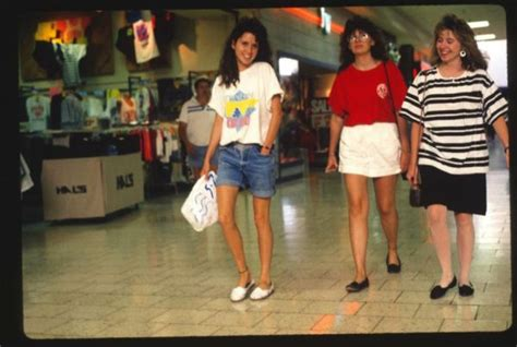 american candid candid photos taken at malls across america in 1989