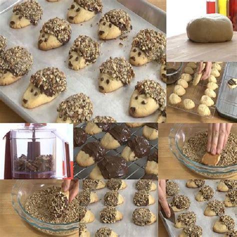 come cucinare il porcospino come fare biscotti porcospino ricoperti di nutella