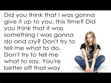 avril lavigne sk8er boi lyricsletra avril lavigne i m with you lyrics letra phim clip