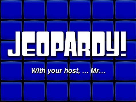 Blank Jeopardy Template 1 Repaired 6 Category Jeopardy Template