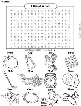 L Blends Coloring Pages by L Blends Worksheet Bl Cl Fl Gl Pl And Sl Initial