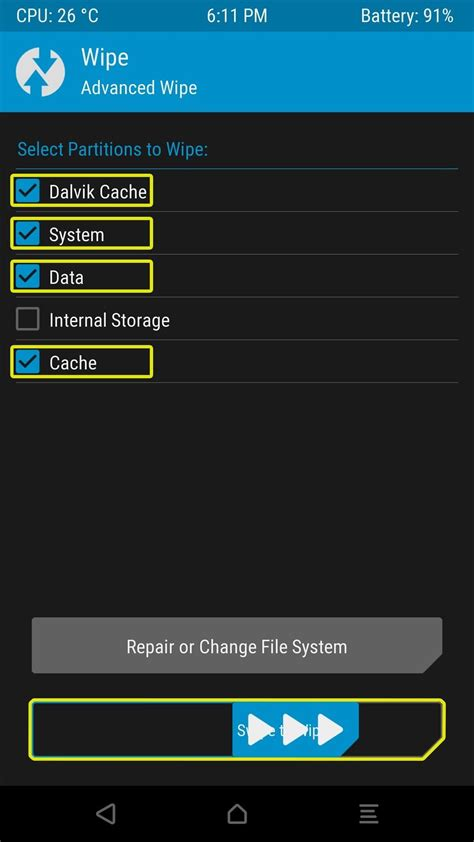 twrp recovery apk twrp 101 how to install a custom rom 171 android gadget hacks