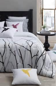 treetop and bird theme bedding home base