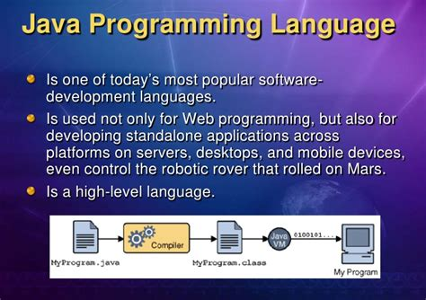one programming chapter 1 java programming language overview