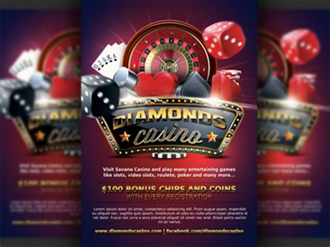 casino magazine ad flyer template 7 by christos andronicou