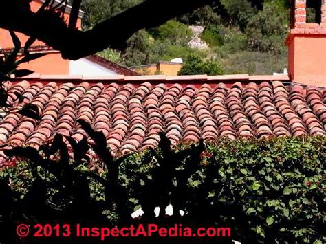tile roof mission san antonio de padua clay tile roof identification inspection installation