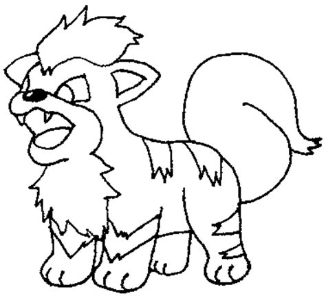 pokemon coloring pages dog growlithe pokemon coloring pages images pokemon images