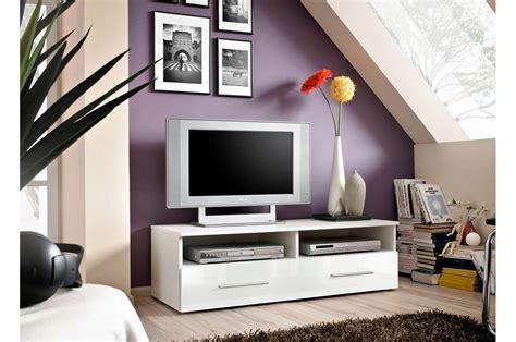 banc television banc tv 120 cm blanc novomeuble