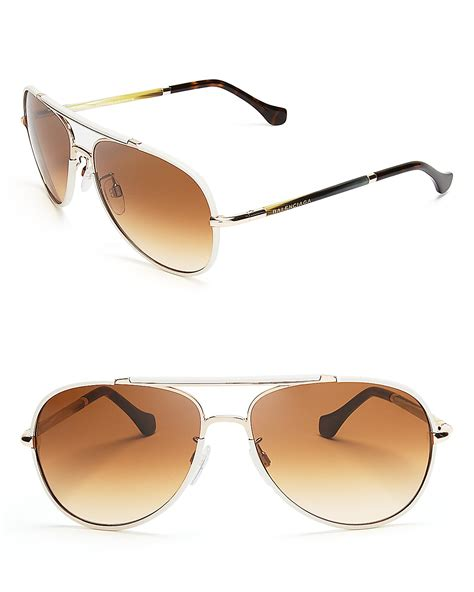 balenciaga aviator sunglasses bloomingdale s