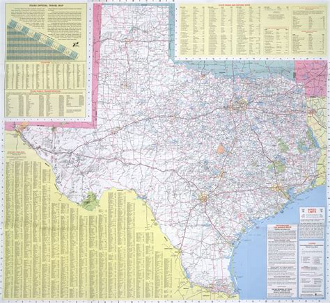 road atlas map of texas texas map roads