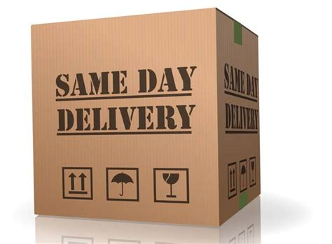 day delivery same day logistics