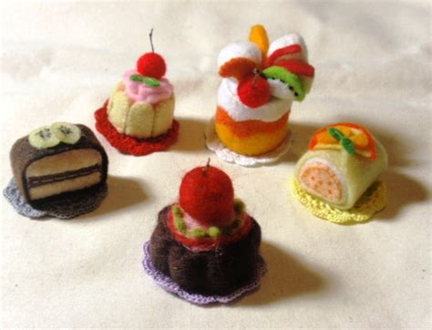 Link Mini Food by Felt Food Patterns Link The Mombot