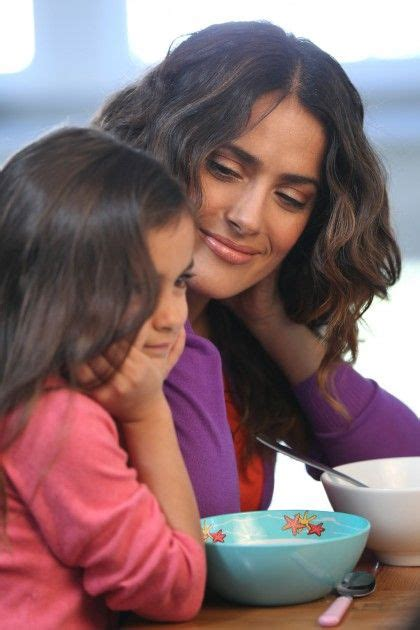 Salma Hayek Engaged And Knocked Up by Salma Hayek And Valentina Happiness Is