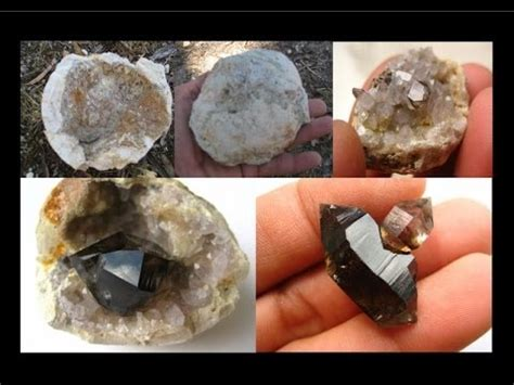 how to find geodes in your backyard how to find geodes smoky quartz crystals liz kreate