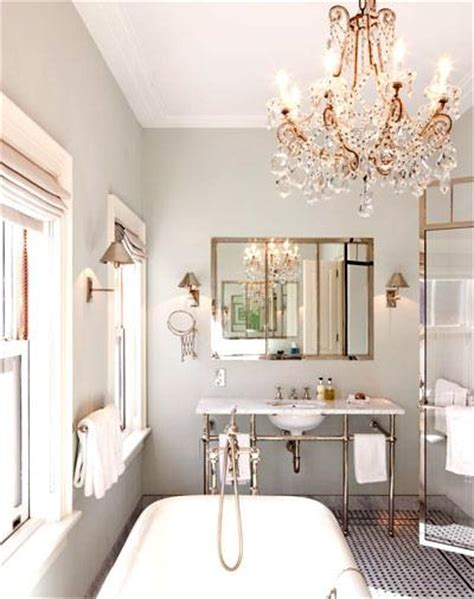 Glamorous Bathroom Lighting Gray Bathroom Transitional Bathroom Nate Berkus Design