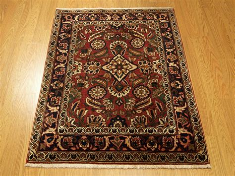 3x4 Beautiful Handmade Persian Bakhtiari Wool Area Rug Ebay Handmade Rugs