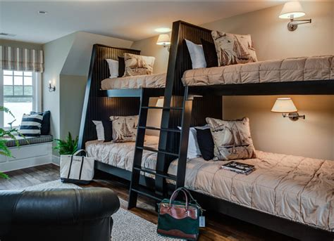 bunk room ideas coastal home with traditional interiors home bunch