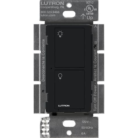 lutron caseta fan control lutron caseta wireless 6 amp multi location in wall