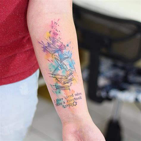 watercolor tattoo life image result for i ve lived a thousand lives