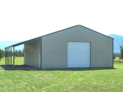 pole barn lean to plans studio design gallery best design