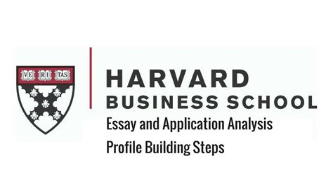 Harvard Mba Profile by Harvard Business School Mba Program Essay And