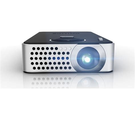 Philips Mini Pocket Projector Wifi philips picopix ppx4350 wifi portable projector deals pc world