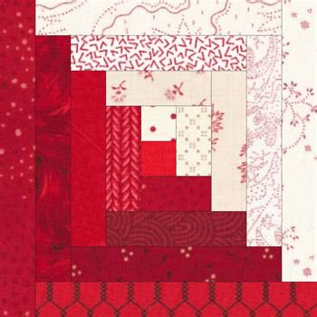 How To Make A Log Cabin Quilt Block by Log Cabin Quilt Block Need Cutting For A 9