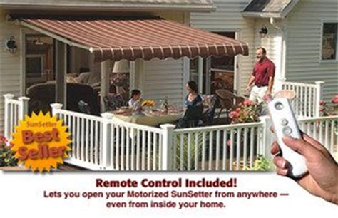 Motorized Retractable Awnings Reviews by 20 Sunsetter Motorized Xl Available