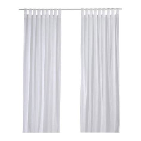 ikea long curtains ikea matilda curtains drapes white on white dotted stripes
