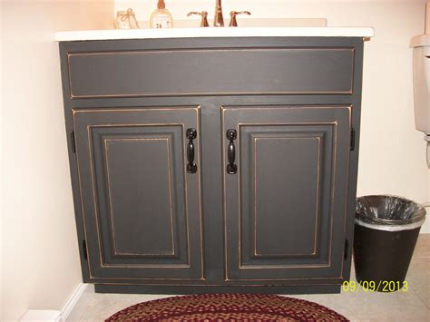 painting bathroom cabinets with chalk paint finished bathroom vanity cabinet with black chalkboard