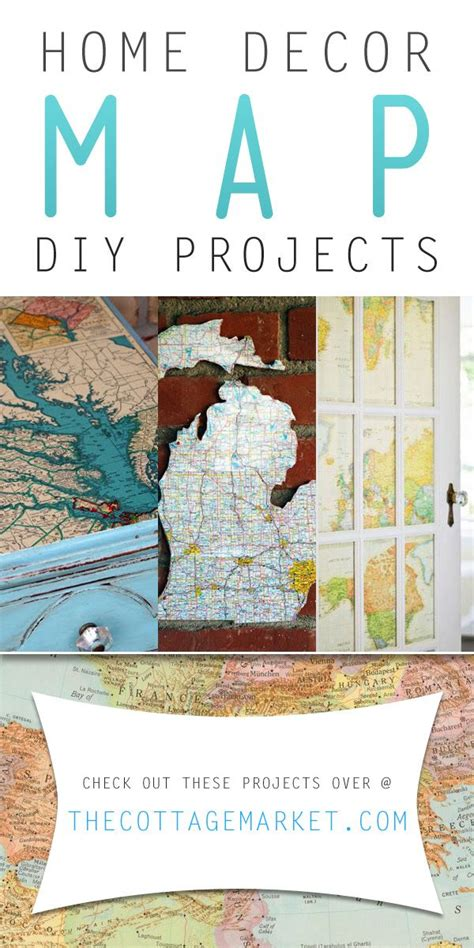 home decor map diy projects the cottage market model