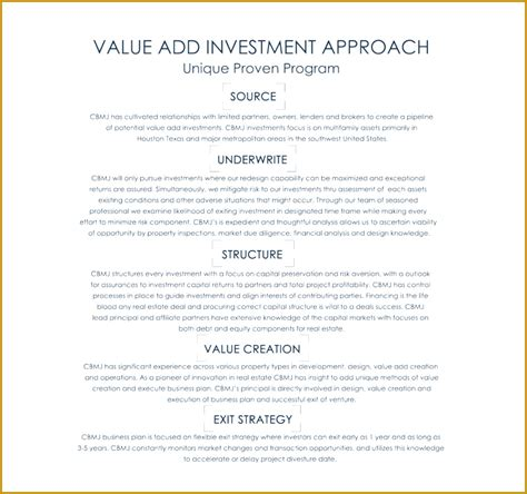 real estate investing business plan template 4 real estate investing business plan pdf fabtemplatez