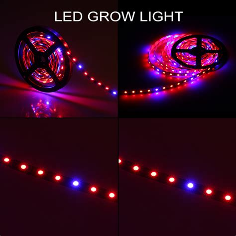 5m Plant Growing Led 5050 Led Strip Light Hydroponic Red Led Grow Light Strips