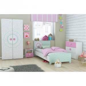 Nice Rangement Pour Chambre Enfant #8: .chambre_fille_originale_lit_rose_a_pois_verre_avec_armore_et_commode_pas_cher_m.jpg