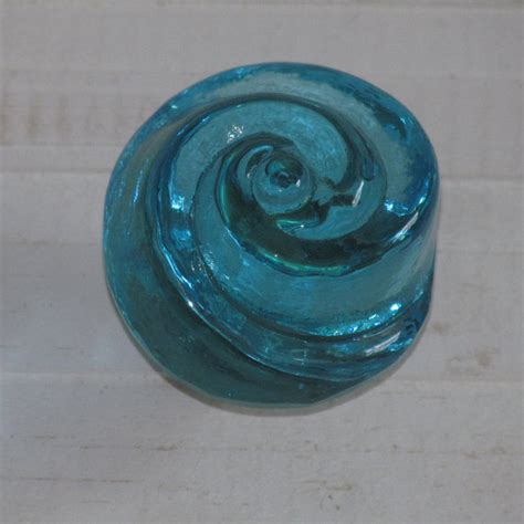 Decorative Glass Door Knobs by Sale Set Of 4 Decorative Glass Knobs Blue Blue Glass