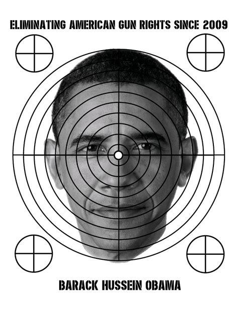 printable shooting targets obama barack obama shooting target pub barack obama shooting