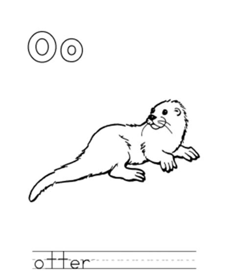 sea otter coloring page az coloring pages