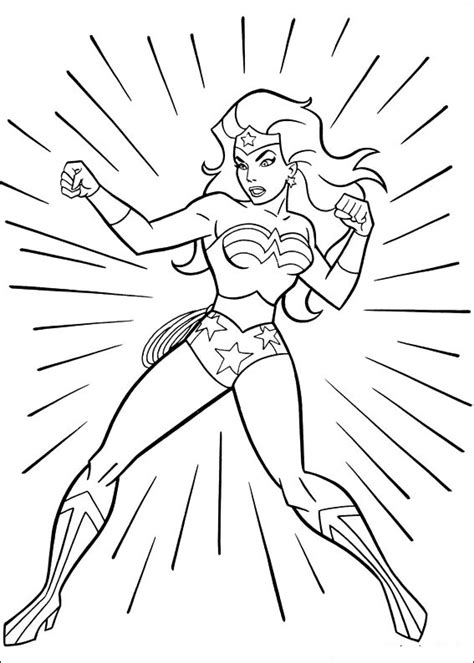 free coloring pages of lego wonder women
