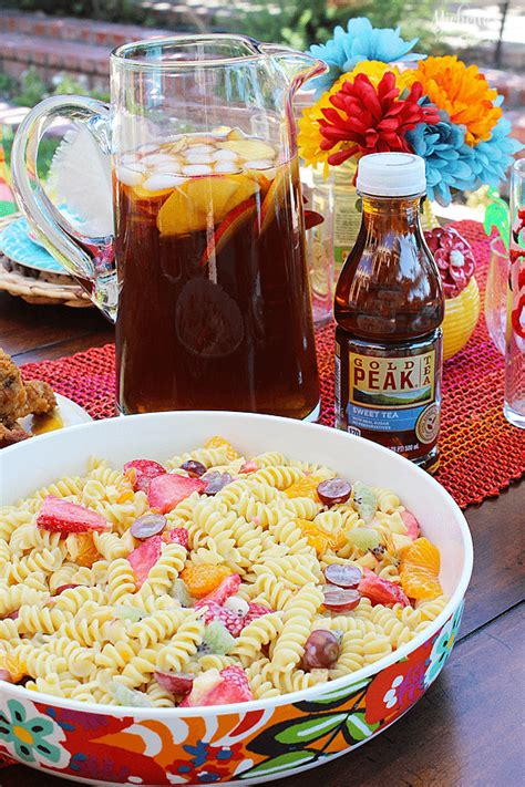 summer lunch recipes entertaining summer entertaining ideas with gold peak tea and barilla