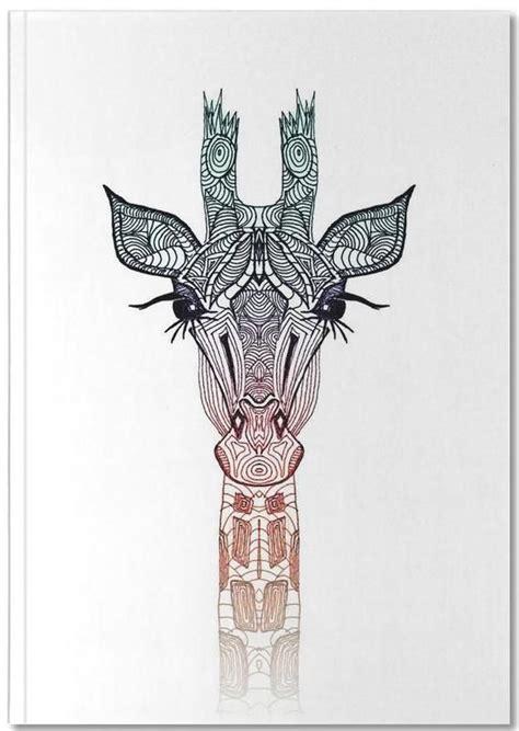 geometric giraffe tattoo giraffe monika strigel premium notizbuch zeichnungen