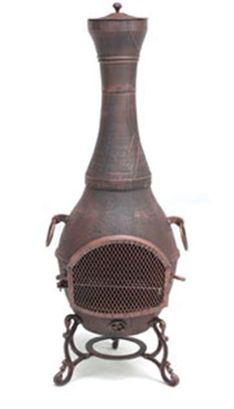 Designer Chiminea Cast Iron Chiminea Designer