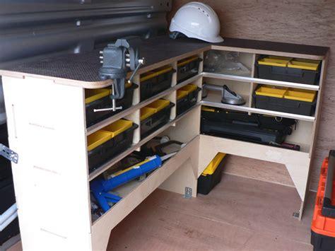 van work bench the lockrite locksmith franchise lockrite van