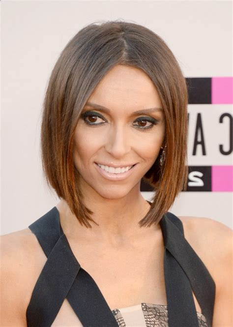 guilanna rancic short sharp bob giuliana rancic short haircut trendy modern bob hairstyle