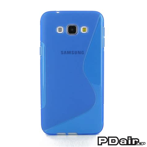 Samsung Galaxy A8 Blue samsung galaxy a8 soft blue s shape pattern
