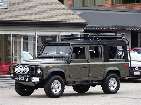 land rover defender 110 convertible 1993 land rover nas defender 110 convertible 148 copley