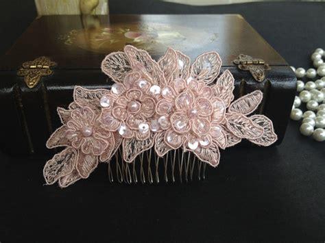 wedding hair accessories pink bridal hair accessories wedding blush pink
