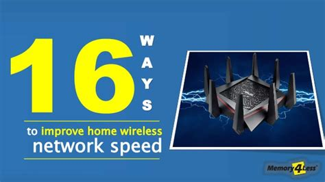 15 ways to improve home wireless network speed of router